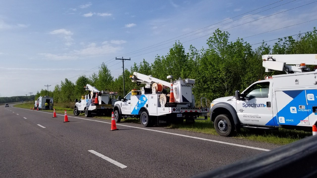 UPDATED: Spectrum outage fixed again after Currituck wreck