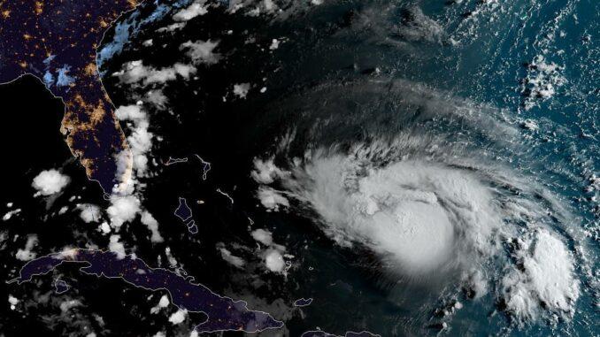 Hurricane Dorian gains strength